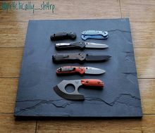 Benchmade - Love these posts from pr4ctically_sh4rp - Current #Benchmade status, #inspired by mostlyknives and essentialcarry...two superb feeds to follow if you aren't...