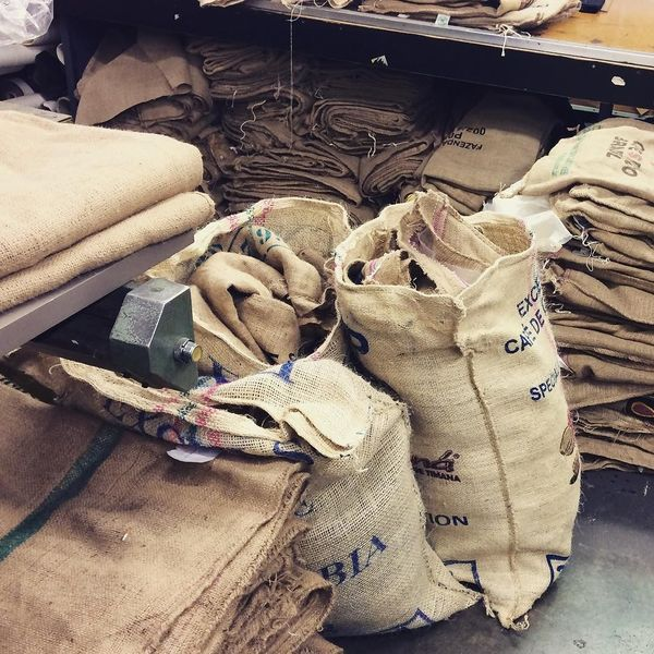 COFFEEUFEEL - We have an abundance of coffee sacks from Havana Coffee ready to be made into hats!! They continue to be one of the most popular styles we make!! Our shop is...