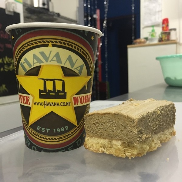 COFFEEUFEEL - Mmmm tasty new creation by the Lady Luck Team, what better to go with your awesome Havana brew than a Havana coffee slice using only the best coffee....
